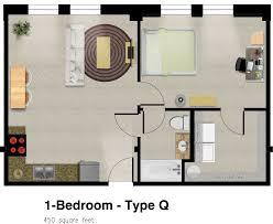 500 Square Feet Floor Plan 3 Beautiful Homes Under 500 Square Feet 450 Sq Ft House Floor Plan
