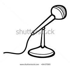 microphone with cord illustration clipart panda free clipart