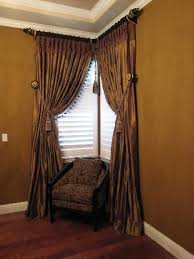 Curtains Corner Windows Ideas Window Curtains Idea Of Best 25 Corner Window Curtains Ideas On