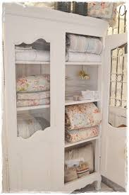 Quilt Storage Cabinets Shabby Chic Shabby Chic Pinterest Shabby Linen Cabinet And
