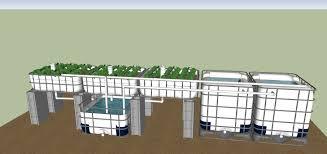 kiemel 1000 gallon aquaponics system
