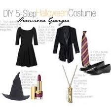 hermione diy halloween costume kassyshimotsu polyvore