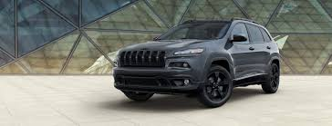 black jeep liberty with black rims 2018 jeep cherokee high altitude limited edition suv