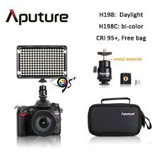 aputure 198leds shooting light cri95 most accurate