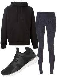 how to rock kylie jenner u0027s look of a hoodie leggings and sneakers