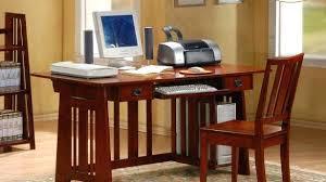 Corner Style Computer Desk Mission Computer Desk Mission Single Drawer Computer Desk With