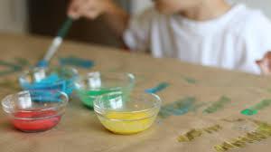 diy glue paint crafts for kids pbs parents