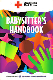 american red cross babysitter u0027s handbook american red cross