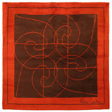 Frank Lloyd Wright Rugs Stunning Pierre Cardin Area Rug For Sale At 1stdibs