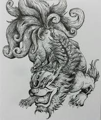 61 best foo dog tattoos design and ideas