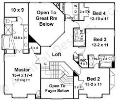 avenues b traditional house plans 4 bedroom plans