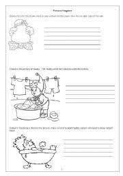 printable hygiene activity sheets english teaching worksheets personal hygiene