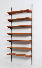 Hanging Wall Bookshelves by Elegant Wall Mounted Shelving Systems 13 With Additional Wall