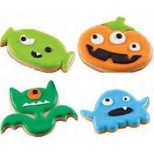 wilton monster halloween set of 7 icing cookie cutters equipment