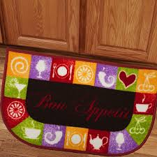Kitchen Slice Rugs Mats Bon Appetit 18x30 Kitchen Slice Rug Free Shipping On Orders Over
