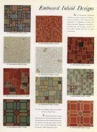 linoleum patterns 1912 1913 seattle f s harmon co