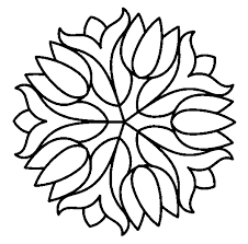 free printable simple mosaic coloring pages 7155 simple mosaic