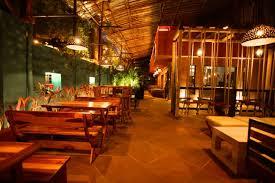 copa bar restaurant interior design by aesthos mumbai
