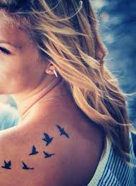 31 best small bird tattoo on shoulder images on pinterest small