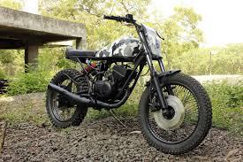 yambam yamaha rx100 scrambler nomad motorcycles pune bikes