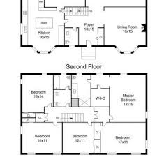 one colonial house plans colonial house plans one with walkout basement small
