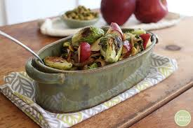 roasted brussels sprouts recipe with apples cadry s kitchen
