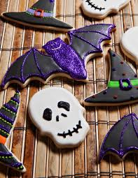 Decorated Halloween Sugar Cookies by Halloween Cookies Cookie Decorating