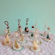 Miniature Glass Christmas Tree Decorations by Diy Vintage Inspired Bell Jar Ornaments My So Called Crafty Life