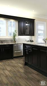 kitchen cabinets a i like this look lot black appliances cherry