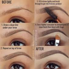 How To Color In Eyebrows How To Fill In Your Eyebrows Like A Pro Tutorial Emaggy