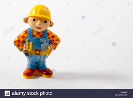 toys white background bob builder cartoon character
