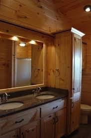 Knotty Pine Vanity Cabinet Pine Bathroom Furniture Foter