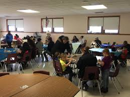 students and families free thanksgiving meal at syracuse