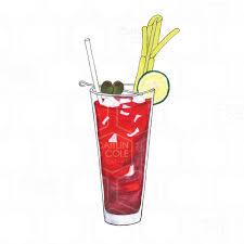 cocktail illustration caitlin u0026 cole creative llc