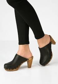 moda donna sanita moda donna zoccoli nero