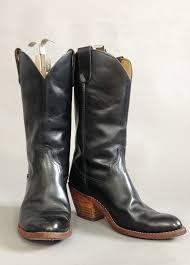 cowboy boots uk leather black leather vintage cowboy boots designer vintage