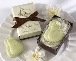 soap wedding favors pear soap favor the pair