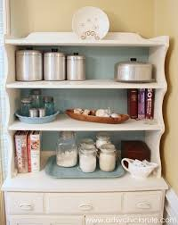 Diy Hutch 1970 U0027s Hutch To Bakers Hutch Annie Sloan Chalk Paint Artsy