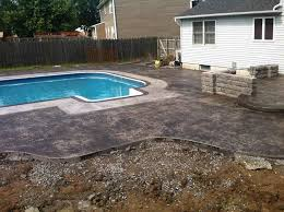 Average Cost Of Flagstone by Fire Pits Design Marvelous Firepit Stamped Concrete Fire Pit