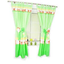 schlaufenschal kinderzimmer kinderzimmer vorhänge mit schlaufen baby gardinen vorhang