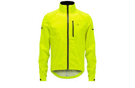 yellow waterproof cycling jacket fwe kennington stashable waterproof cycling jacket from evans