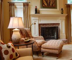 decorating decorating living room with fireplace mantles design