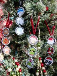multi pack bottle cap tree ornaments