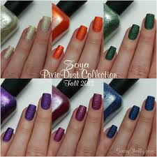 zoya pixiedust collection for fall 2013 sassy shelly