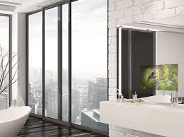 fernseher für badezimmer spiegelfernseher für badezimmer und wellness gastronomie
