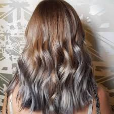 grey hair highlights and lowlights 13 colors that make trying the grey hair trend easy