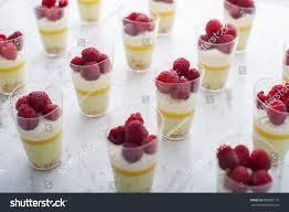 cuisine de a à z verrines verrines basil lime berries stock photo 683828110
