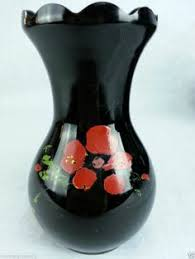 Amethyst Glass Vase Glass Vase Black Amethyst Glass I Saw Some Black Glass In An