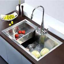 square kitchen sink dawn sinks undermount square single bowl kitchen sink 18 gauge