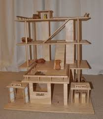 Plan Toys Wooden Parking Garage by